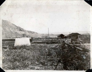 Robert Ogilvie's Homestead in 1928. Courtesy of the Fort St. John North Peace Museum