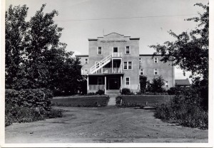 Providence Hospital. Courtesy of the Fort St. John North Peace Museum