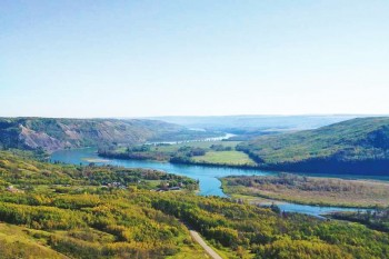 Peace River Lookout Point
